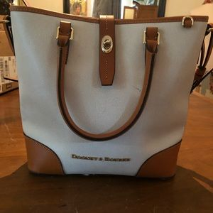 Dooney Bourke Bone White handbag AUTHENTIC